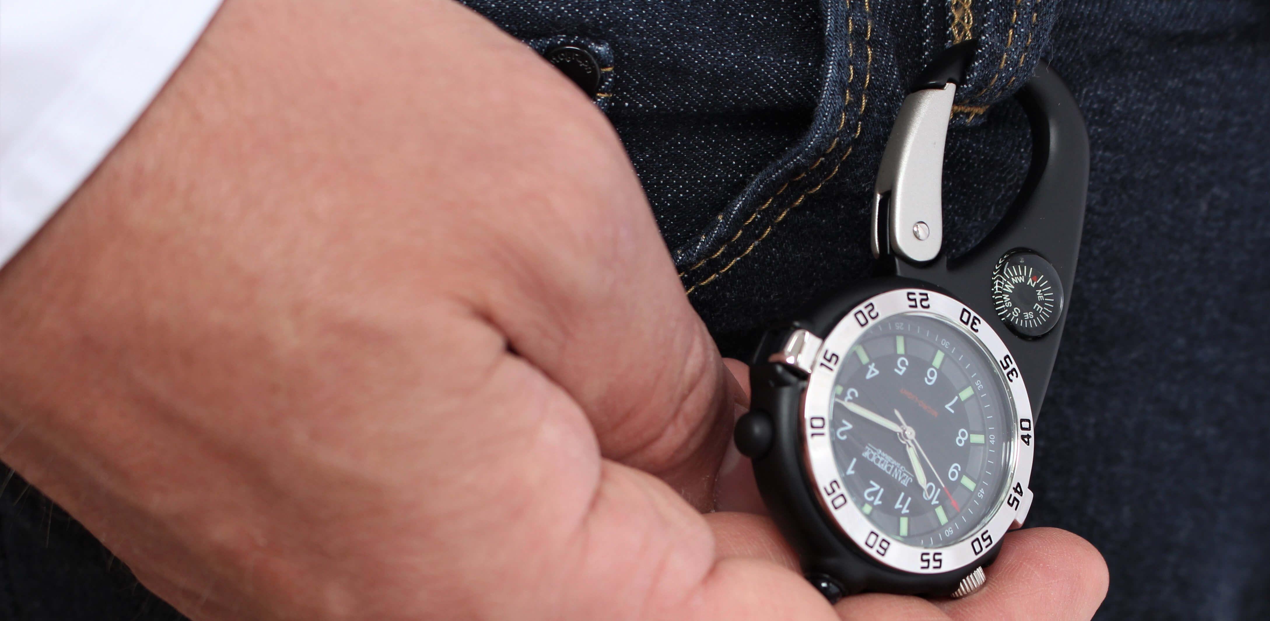 Jean Pierre Carabiner Watch